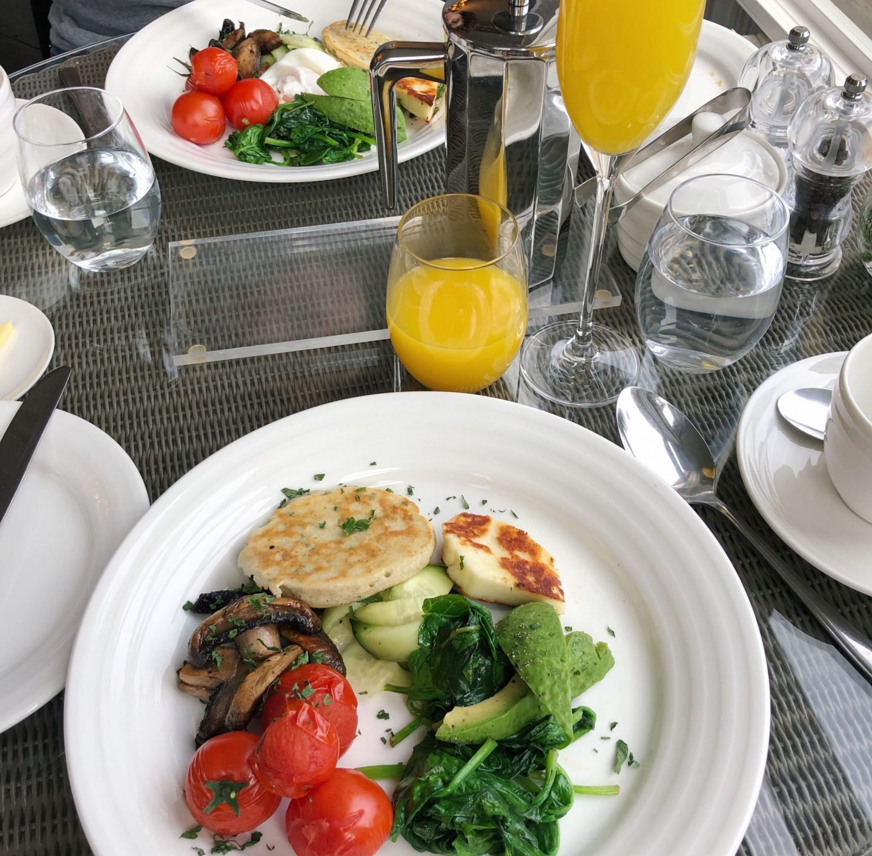 Roseate Villa Bath Vegetarian Breakfast